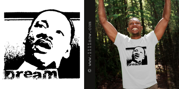 MLK Dream Organic T-Shirt