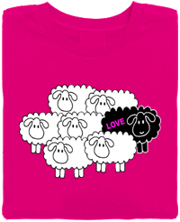 Black Sheep Love  Organic T-Shirt
