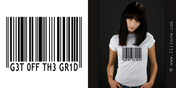 Get Off the Grid Organic T-Shirt