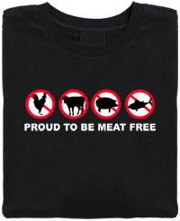Proud to be Meat Free Organic Cotton T-Shirt
