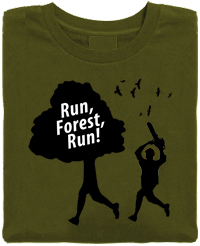 Run Forest Run Organic Cotton T-Shirt