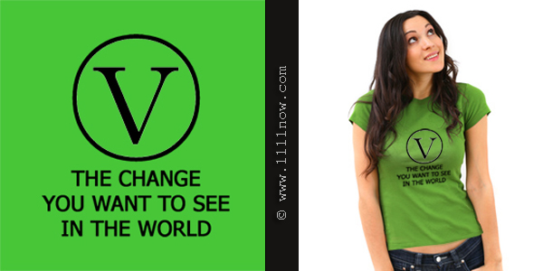 V the Change Organic T-Shirt