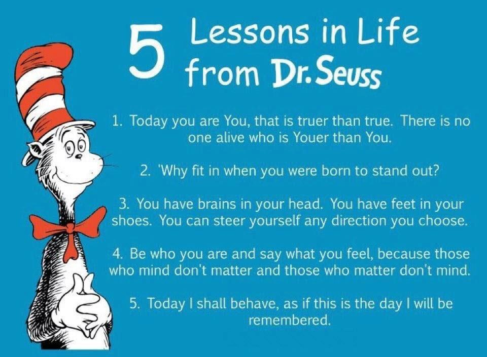 5 Life Lessons from Dr. Seuss