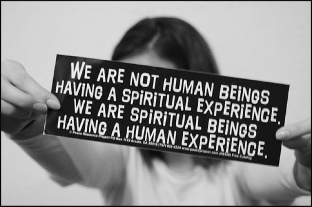 spiritual beings human experience
