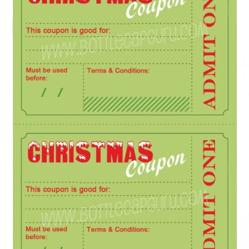 DIY Christmas Coupons - Printable, Instant Download
