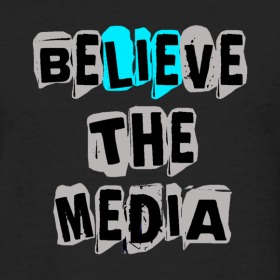 Believe the Media Tee
