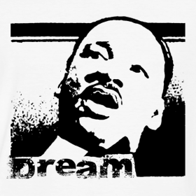 Dream - Martin Luther King Tee