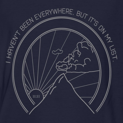 i havent been everywhere travel tee