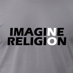 Imagine No Religion T-Shirts Tee