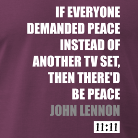 If Everyone Demanded Peace Tee
