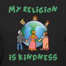 My Religion is Kindness Tee