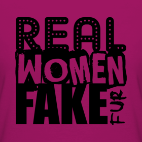 Real Women Fake Fur Tee