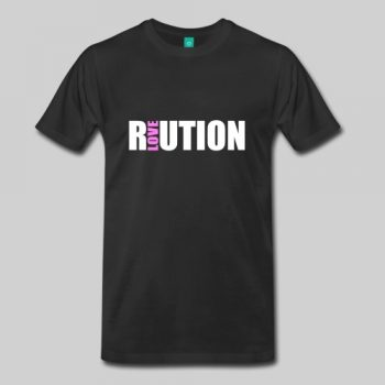 revolution love tshirt