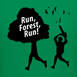 Run, Forest, Run T-Shirt