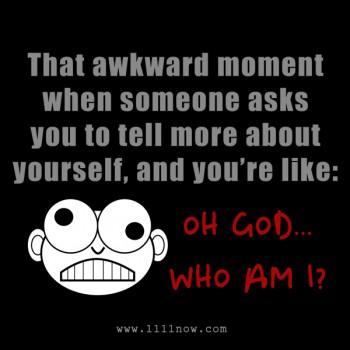 Oh God... Who Am I?