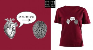 I'm With Stupid (Heart to Brain)