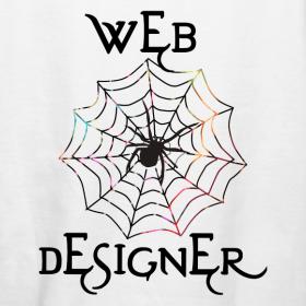 Spider Web Designer Tee