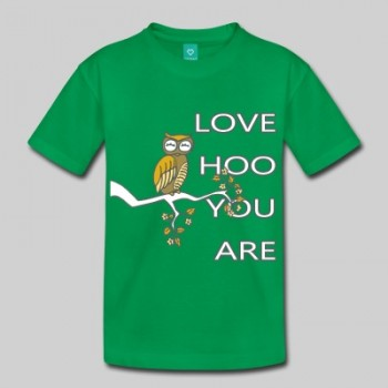 Love Hoo You Are Kid's T-Shirt