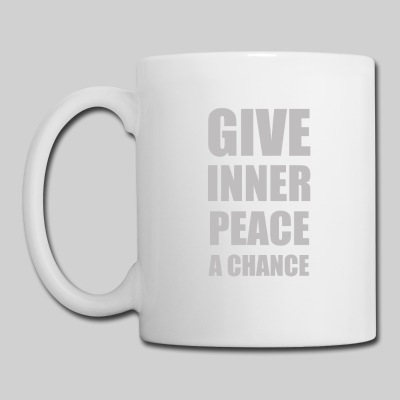 Give Inner Peace a Chance Coffee Mug