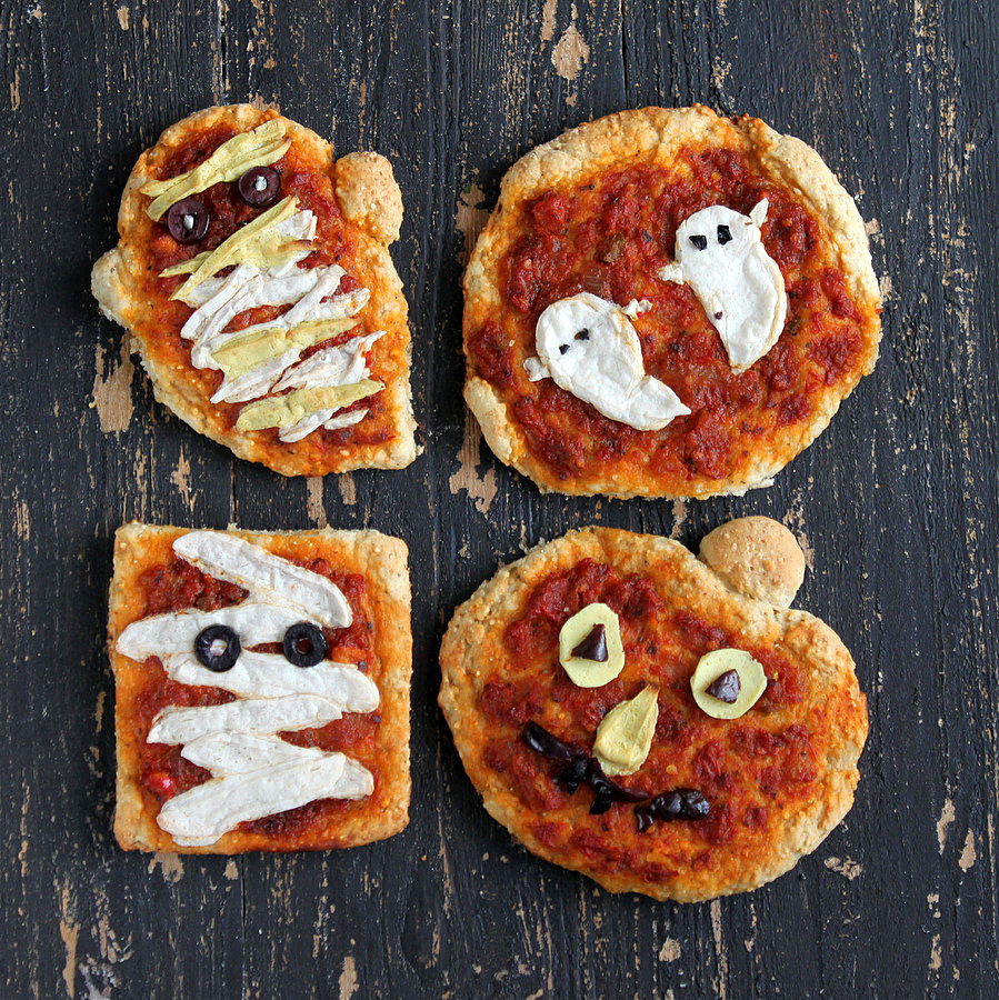 Vegan Halloween pizza ideas