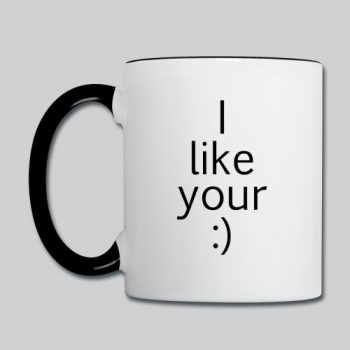 i like your smile coffee mug
