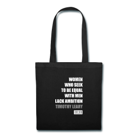 Timothy Leary Women Quote Tote Bag