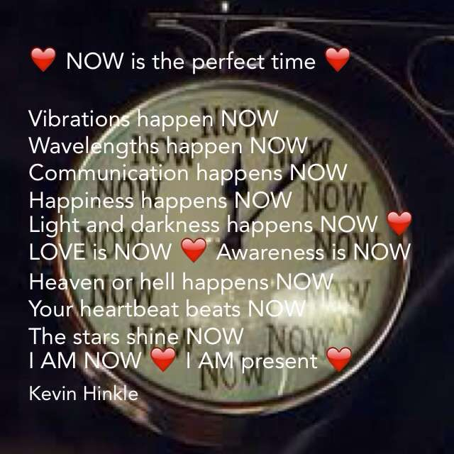 now is the perfect time