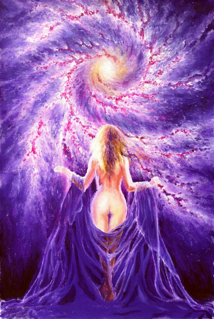 """When a woman is in touch with her unbounded ecstasy, her infinite capacity for love and her clairvoyant potential, she will be ripe and ready to give birth to a world where life overflows with joy, dance, song, love and beauty. I see such a world on the horizon….""  — Mahasatvaa Ananda Sarita"