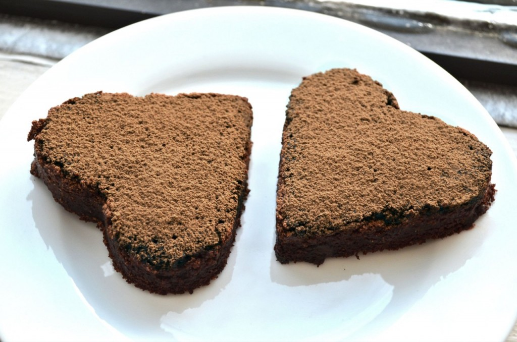 VEGAN VALENTINE: CHOCOLATE BROWNIE HEARTS RECIPE