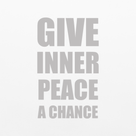 give-inner-peace-a-chance_design tee
