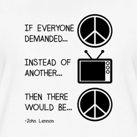 john-lennon-peace-quote_design tee