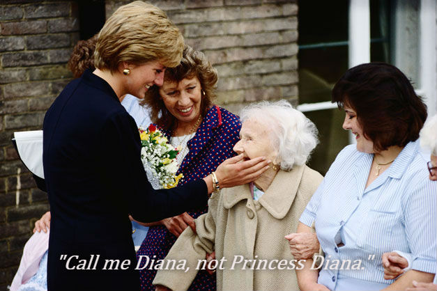 Call Me Diana, Not Princess Diana