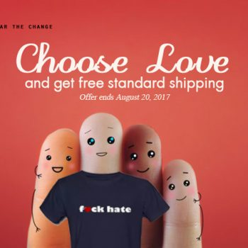 choose love free shipping